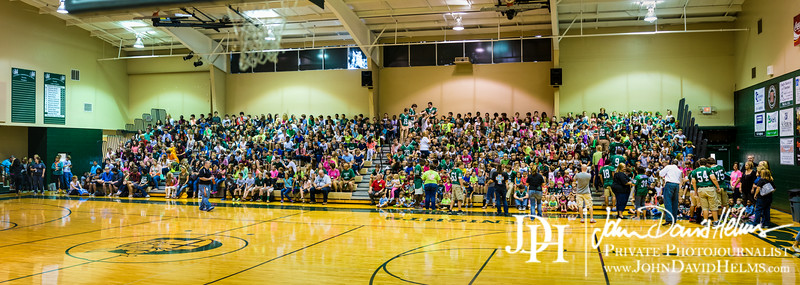 August 29, 2014 - CCS pep rally.  Photo by John David Helms