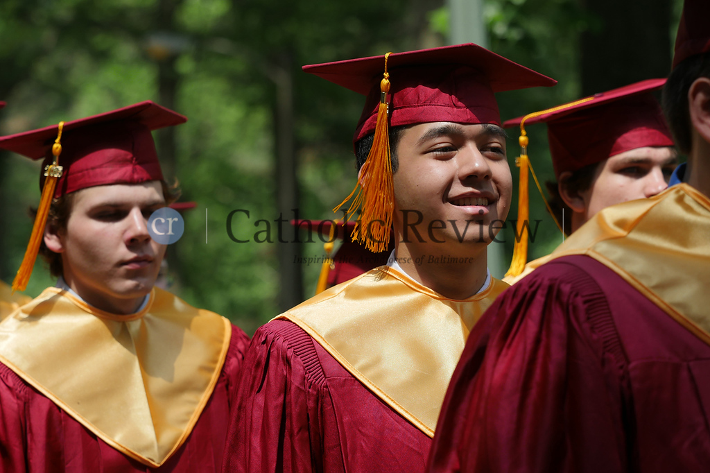 Calvert Hall Graduation 2015