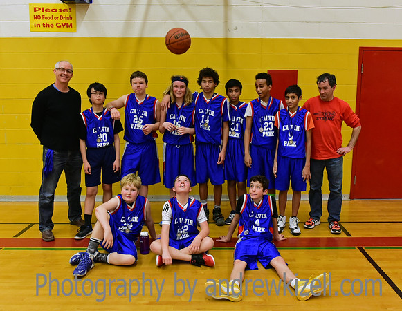 Calvin Park Basketball Tournament in Sydenham