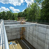 The new aeration tanks at the sewage treatment plant on Tuesday, June 20, 2017. The new tanks, which are designed to better reduce nitrates, will replace the older settling tanks. CAM BUKER/STAFF PHOTOGRAPHER