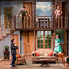 """The cast members of """"Noises Off"""" perform in Bratton Theater on June 29, 2017. """"Noises Off"""" is a play within a play, and it kicks off the 2017 CTC season at 8:00 PM on June 30, 2017. CAM BUKER/STAFF PHOTOGRAPHER"""