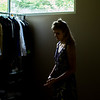 Avery Draut takes a moment before she performs at Fletcher Music Hall on June 27, 2017. CAM BUKER/STAFF PHOTOGRAPHER