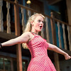 "Kelsey Jenison performs a scene during a dress rehearsal for Chautauqua Theater Company's production of ""Noises Off"" in Bratton Theater on June 29, 2017. ""Noises Off"" is a play within a play, and it kicks off the 2017 CTC season at 8:00 PM on June 30, 2017. CAM BUKER/STAFF PHOTOGRAPHER"