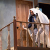 """Yonatan Gebeyehu performs a scene from """"Noises Off"""" in Bratton Theater on June 29, 2017. """"Noises Off"""" is a play within a play, and it kicks off the 2017 CTC season at 8:00 PM on June 30, 2017. CAM BUKER/STAFF PHOTOGRAPHER"""