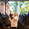 Conductor Stuart Chafetz leads the Chautauqua Symphony Orchestra during the Independence Day Celebration on Tuesday, July 4, 2017 in the Amphitheater. CAM BUKER/STAFF PHOTOGRAPHER