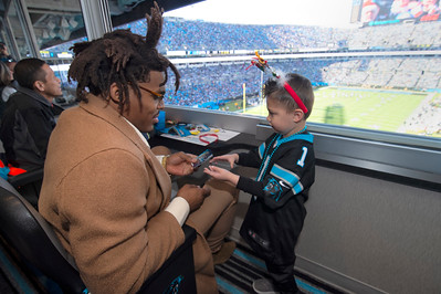 Christmas With Cam Supporting Levine Children's Hospital @ BOFA Stadium 12-15-19 by Jon Strayhorn