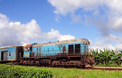 Ferrocarriles de Cuba Russian TEM-2TK , Altagracia, Cuba