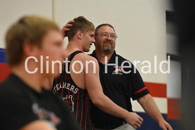 Camanche, Fulton, DeWitt wrestling 12-20-18