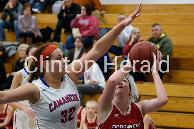 Camanche Girls Basketball 1-5-16
