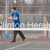Camanche boys tennis vs. Marion
