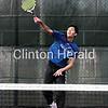 Camanche boys tennis vs. Marion