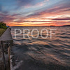 Sunsets  on the beach in Camano Island