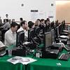 Cancún Messe: Para quienes no quieren trasladar sus computadoras personales, hay varias salas con acceso a máquinas y a buena conexión.