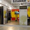 Cancún Messe: El stand de Ecuador, con gran destaque a la Iniciativa Yasuní.