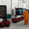 Cancún Messe: Espacio de arte junto a las salas de side events, con excelentes fotografías.