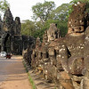 Southern Gate, Angkor Thom - Cambodia