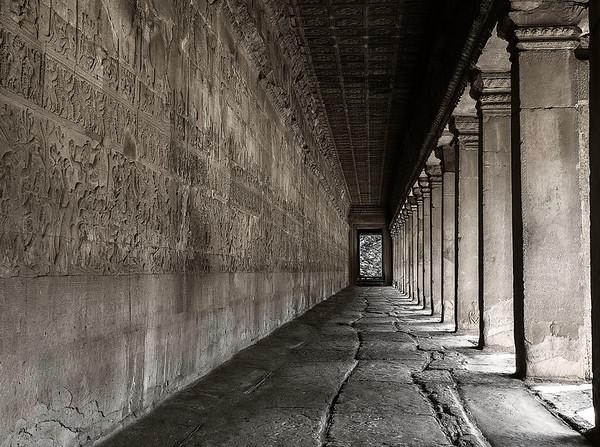 Murals, Angkor Wat
