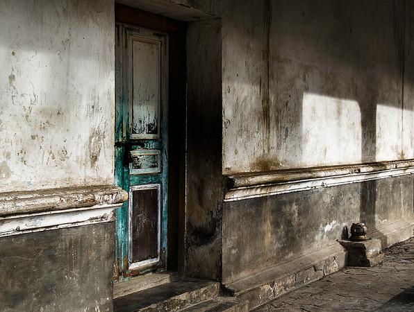What lies within - Monastery Door