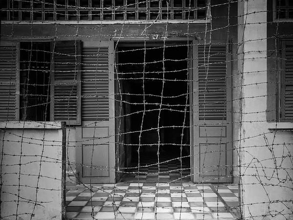 Cell Block, S21, Phnom Penh.