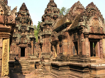 Cambodia: Siem Reap: Banteay Srei Temple 2005