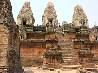 Cambodia: Siem Reap: Pre Rup Temple 2005