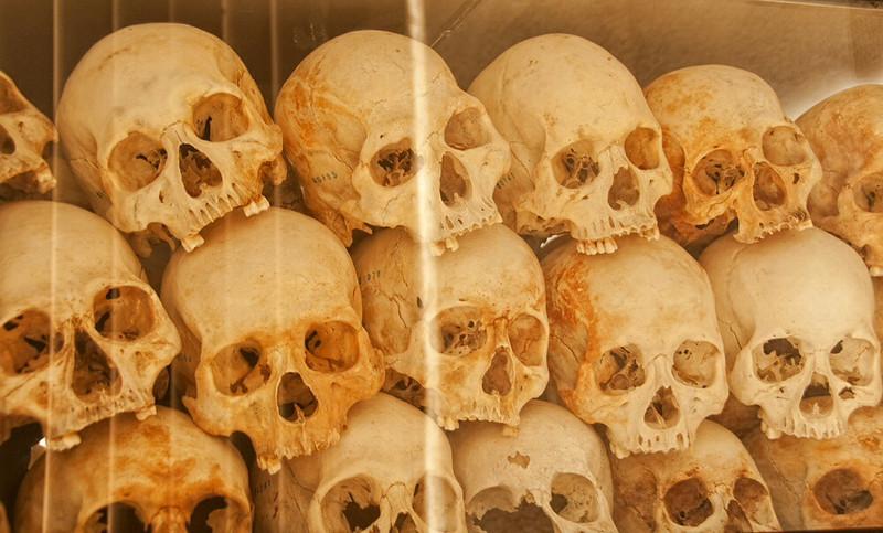 Memorial killing fields ,cambodia