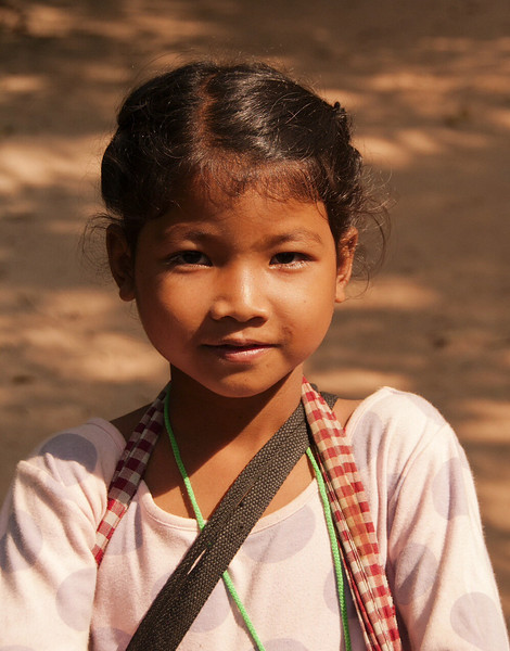 Cambodian street child