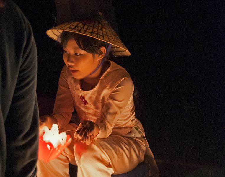 Street lanterns hoi an Vietnam