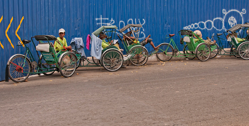 Cycle Rickshaw Rank