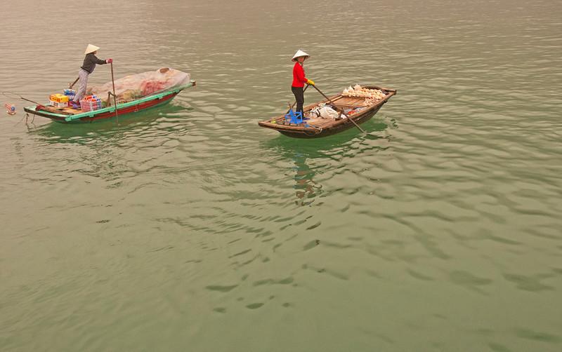 Market Sellers Mekong Delta