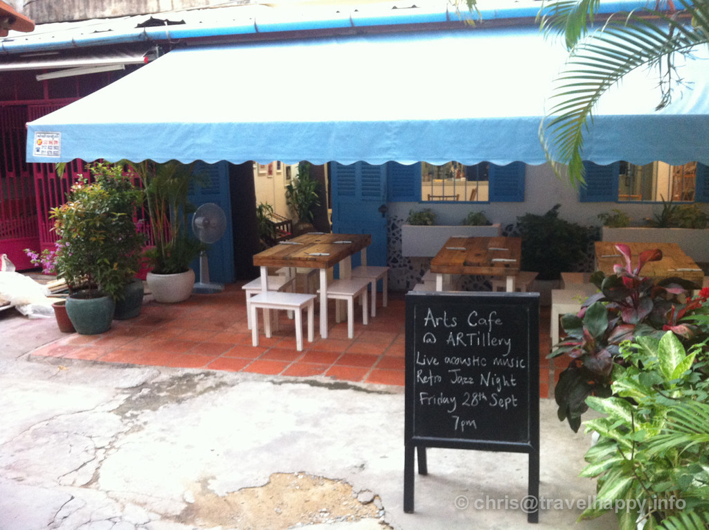 ARTillery Arts Cafe outside
