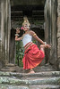 Khmer-classical-apsara-dancer,-Terrace-of-the-Elephants,-Angkor-Thom,-Cambodia