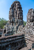 The ruins and remains of the Angkor Thom Temple near Siem Reap, Cambodia, Asia.