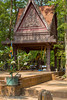 A buddhist shrine in  the woods near the Angkor Thom Temple in Cambodia, Asia.