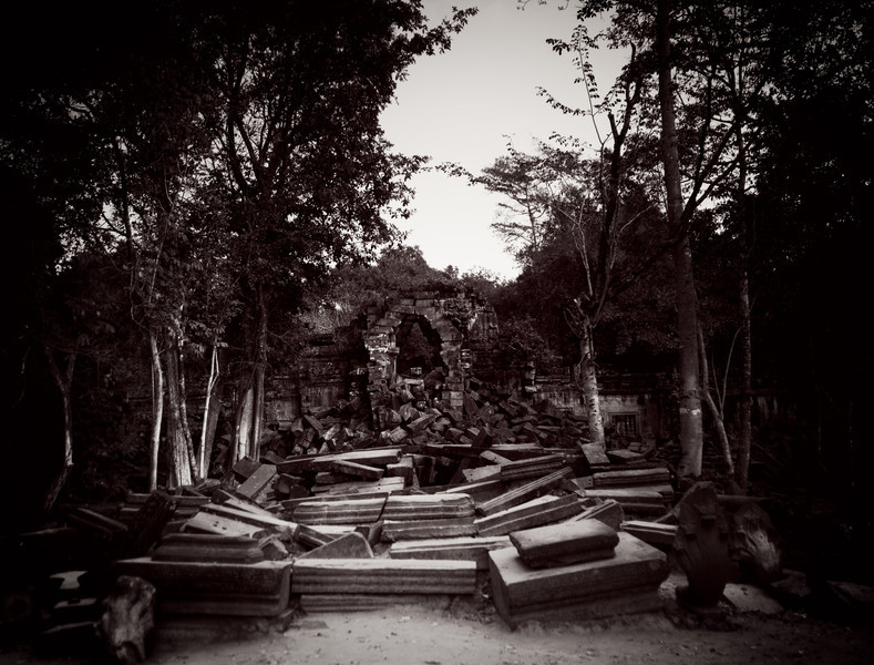 the ruins of Beng Mealea
