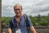 Jim-Zukerman-on-the-top-terrace-of-Angkor-Wat,-Siem-Reap,-Cambodia