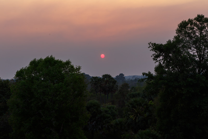 Sunset from Pre Rup