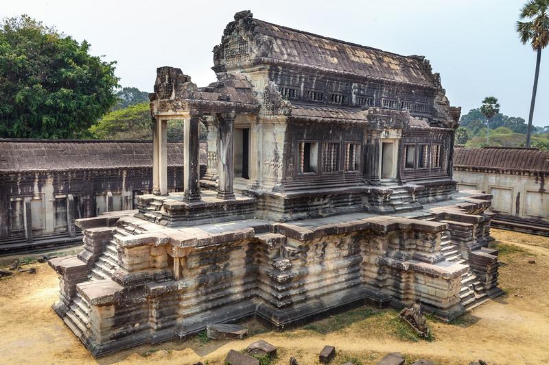 Angkor Wat - South Thousand God Library