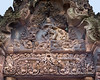 Shiva-Nataraja-figure-(cosmic-dancer)-on-the-eastern-gopura,-Banteay-Srei,-Cambodia
