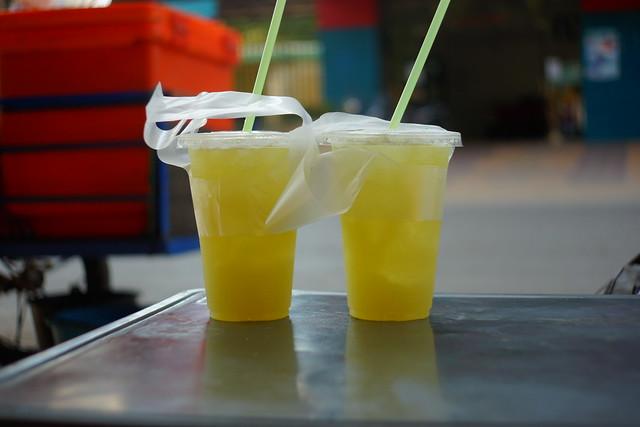Cold drinks in Battambang