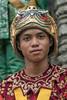Portrait-of-a-Khmer-dancer,-Prasat-Bayon,-Angkor-Thom,-Siem-Reap,-Cambodia