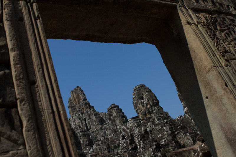 The Bayon Framed