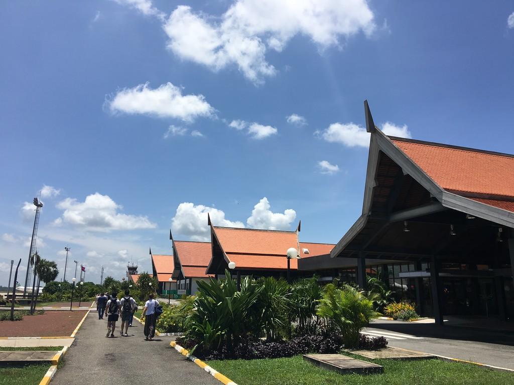 Siem Reap Airport, Cambodia