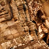 Golden dawn at The Bayon, Cambodia.
