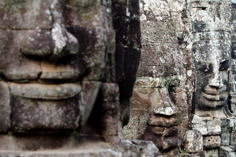 The many faces of Jayavarman VII, The Bayon, Siem Reap, Cambodia