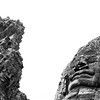 216 faces adorn the Angkor Thom. These ones are at The Bayon. Cambodia