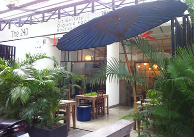The 240 Hotel, Phnom Penh , image copyright Chris Mitchell