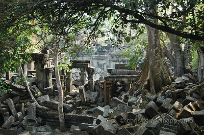 Beng Mealea: The Lost Temple Of Angkor , image copyright Chris Mitchell