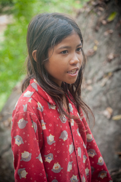 Our eleven year old guide to Phnom Chhnork cave