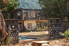 Remains of an old villa shelled by Khmer Rouge.
